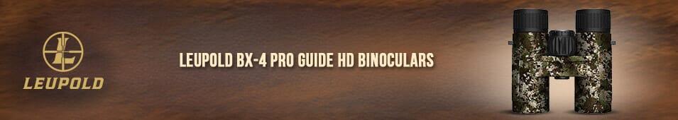 Leupold BX-4 Pro Guide HD Binoculars
