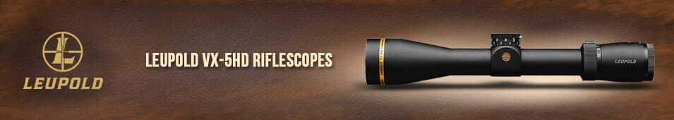Leupold VX-5HD Riflescopes