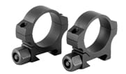 """Nightforce STND 30mm Two-Piece .9"""" Low 2 Screw Scope Rings A416"""